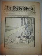 Lot De 8 Revues Le Pêle Mêle 1900-1901 Illustrateurs Rabier, Norwins, Guillaume, Weilluc, Capy... - Livres, BD, Revues