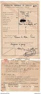 Préfecture De Saône Et Loire ( Zone Occupée ) - Autorisation Temporaire De Circuler - 6 Juillet 1943 - Dokumente