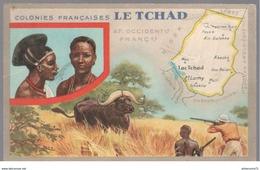 Publicité Le Lion Noir - Les Colonies Françaises - Le Tchad - Autres
