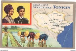 Publicité Le Lion Noir - Les Colonies Françaises - Le Tonkin - Autres