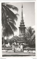 Carte Photo Coloniale - Laos - Luang Prabang - Tombeau D'un Bonze - Circulée Juin 1954 - Laos
