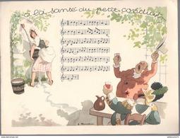 Publicité Laboratoire Le Brun - Partition Musicale Illustrée Par Jacques Touchet - Circa 1950 - A La Santé Du Petit ... - Autres