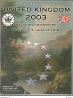 BU Royaume Uni Euros 2003 - Essai / Probe / Trial - EURO