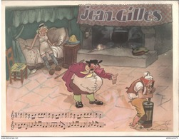 Publicité Laboratoire Le Brun - Partition Musicale Illustrée Par Jacques Touchet - Circa 1950 - Jean-Gilles - Autres
