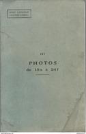 Lot De 40 Illustrations Et Photos De Véhicules Blindés Pour L'instruction Au Guet Antichar - Circa 1955 - Dokumente