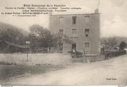 CPA - Royat - Hotel Restaurant De La Pépinière - Léon Bourgoignon Propriétaire - Non Circulée - Royat