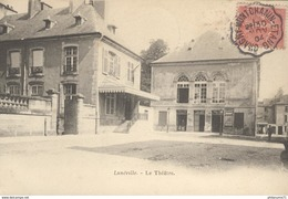 CPA Lunéville - Le Théatre - Circulée 1904 - Luneville