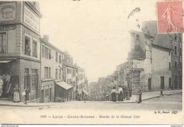 CPA Lyon - Croix Rousse - Montée De La Grande Cité - Circulée 1906 - Très Bon état - Lyon 4