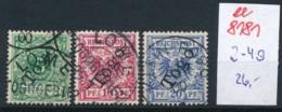 Togo Nr.  2-4  O     (ee8181  ) Siehe Scan - Kolonie: Togo