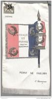 Fanion 505 Régiment De Train Vienne - Drapeaux