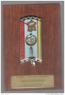 Plaque Ensoa / 1er Bataillon - 258ème Promotion - ADC Leonetti -  6,8 X 10 Cm - Badges & Ribbons