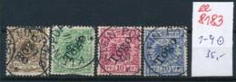 Togo Nr.  1-4  O     (ee8183  ) Siehe Scan - Kolonie: Togo