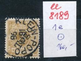 Togo Nr.  1 E  O     (ee8189  ) Siehe Scan - Kolonie: Togo