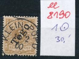 Togo Nr.  1   O     (ee8190  ) Siehe Scan - Kolonie: Togo