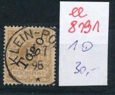 Togo Nr.  1   O     (ee8191  ) Siehe Scan - Kolonie: Togo