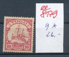 Togo Nr.  9  *     (ee8179  ) Siehe Scan - Kolonie: Togo