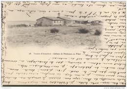 CPA Carte Nuage - Bassin D'Arcachon - Cabanes De Pêcheurs Au Fêrel - Circulé 1903 - Arcachon