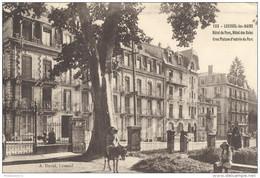 CPA - Luxeuil Les Bains - Hôtel Du Parc - Hôtel Des Bains -  Circulé 1912 - Luxeuil Les Bains