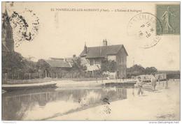 CPA - Marseille Les Aubigny - Ecluse D'Aubigny -  Circulé 1918 - Frankrijk