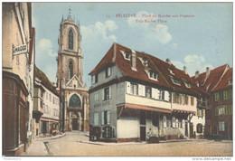 CPA - Sélestat - Place Du Marché Aux Poissons - Circulée 1922 - Selestat