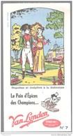 Buvard Van Lynden Pain D'épices - Napoléon Et Joséphine à La Malmaison - Très Bon état - Pain D'épices