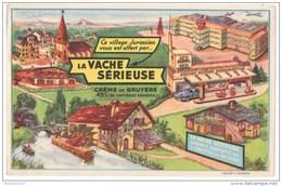 Buvard La Vache Sérieuse - Crème De Gruyère - Bon état - Leche