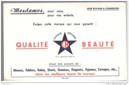 Buvard CB - Blouses, Tabliers, Robes...- Très Bon état - Buvards, Protège-cahiers Illustrés