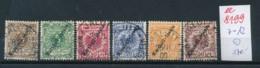 Marshall Inseln  Nr.  7-12  O       (ee8199  ) Siehe Scan - Kolonie: Marshall-Inseln