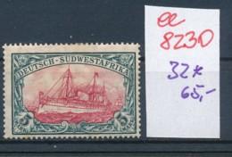 DSWA Nr. 32  *    (ee8230  ) Siehe Scan - Colony: German South West Africa