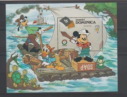 Disney Dominique Dominica 1985 BF103 ** MNH - Disney