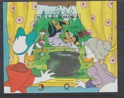 Disney Dominique Dominica 1985 BF105 ** MNH - Disney
