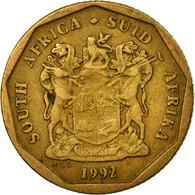 Monnaie, Afrique Du Sud, 20 Cents, 1992, Pretoria, TB+, Bronze Plated Steel - Afrique Du Sud