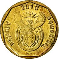 Monnaie, Afrique Du Sud, 10 Cents, 2010, Pretoria, TTB, Bronze Plated Steel - Afrique Du Sud