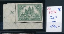 D.-Reich    Nr.  367   **   (ee8034  ) Siehe Scan - Deutschland