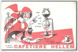 Buvard Cafetière Hellem - Très Bon état - Blotters