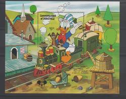 Disney Dominique Dominica 1987 BF124 ** MNH - Disney