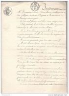 Actes Notariés 2 Donations Réciproques Entre Vifs - Auxerre 1826 - Manuscripts