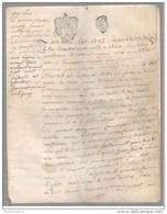 Acte Notarié Sur Parchemin - Vente De Terrains à Aluze 1773 - Manuscripts