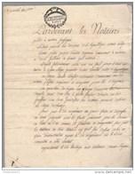 Acte Notarié - Vente De Vigne à Auxerre Prairial An 2 - 1795 - Manuscripts