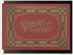 Carnet Souvenir De 14 Vues Vichy Et Ses Environs - Vichy