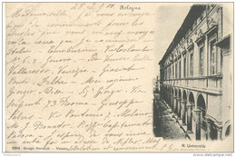 CPA Carte Nuage - Bologna - R. Universita - Circulée 1900 - Autres