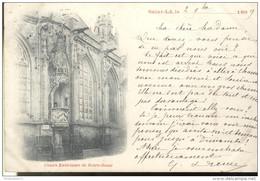 CPA Carte Nuage - Saint Lo - Chaire Extérieure De Notre Dame - Circulée 1899 - Saint Lo