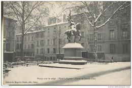 CPA Nancy - Place Lafayette - Statue De Jeanne D'Arc - Circulée 1909 - Nancy