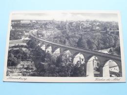 Viaduc Du Nord ( Edit. Th. Wirol ) Anno 1938 ( Voir Photo ) ! - Lussemburgo - Città