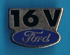 PIN'S //  ** LOGO / FORD 16V ** - Ford