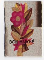 """CALENDRIER DE POCHE - """"  BON MARCHE """" - 1930 - 5,5 X 8cm - Belles Illustrations - 6 Scans - Calendriers"""