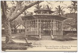CPA Coloniale Nouvelle Calédonie - Place Des Cocotiers Et Kiosque De Musique - Non Circulée - Nueva Caledonia