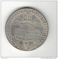 Médaille Suisse - Maison De L'Union Chrétienne De Jeunes Gens - Genêve - - Gettoni E Medaglie
