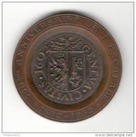 Médaille Commémorative Suisse - 350ème Anniversaire De L'Escalade - 1602 1952 - Jetons & Médailles