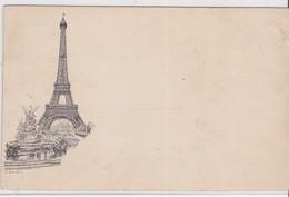 CP - TOUR EIFFEL 1989 Avec Timbre Et Non Circulé - Tour Eiffel